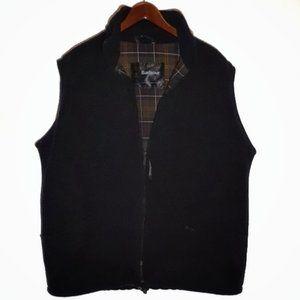 Barbour Fleece Waistcoat/Vest Black XL